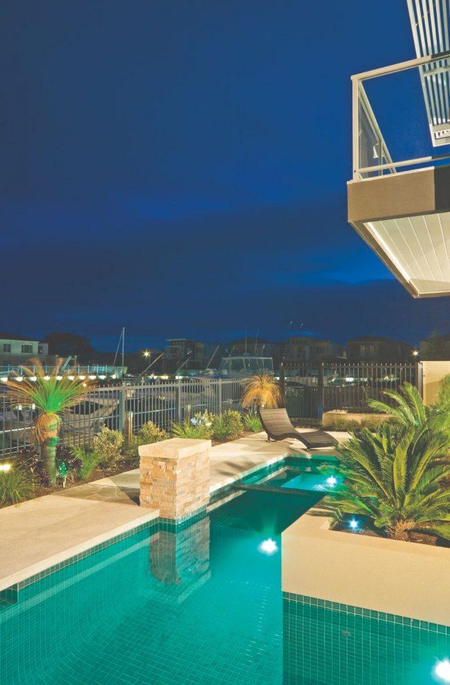 Luxury Pool in stunning Martha Cove