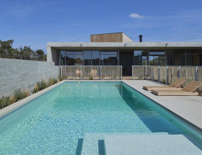 Designer pool built in Blairgowrie